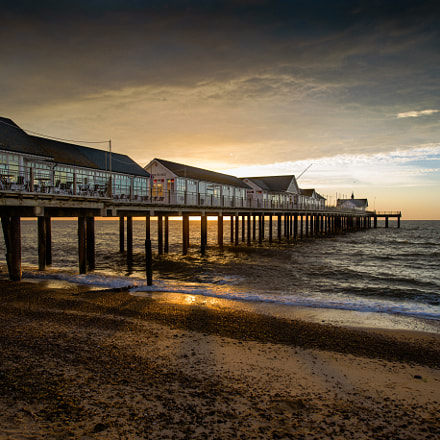 Southwold pier sunrise