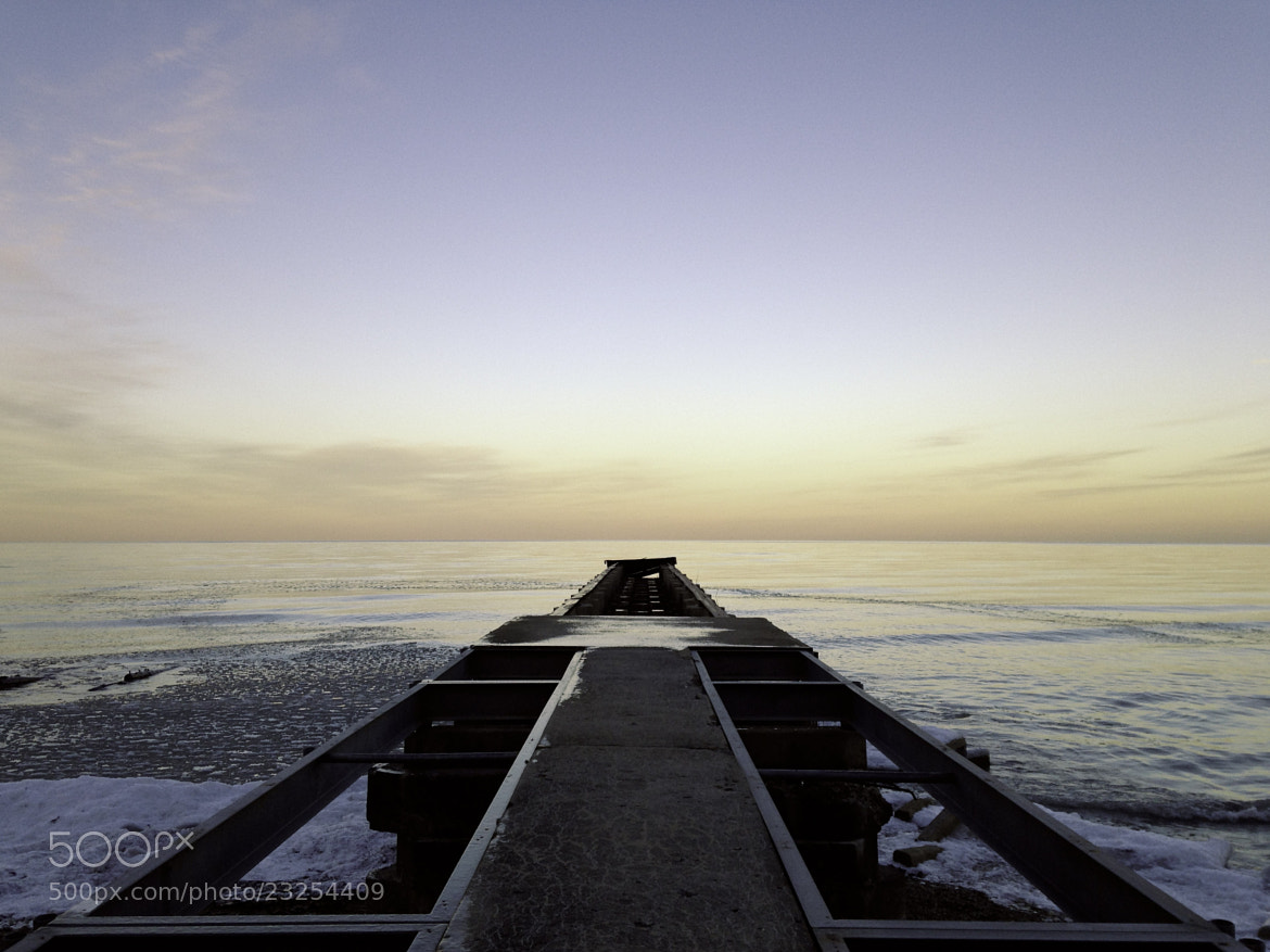 Photograph Lake Michigan: captured with an iPhone by Luke Schneider on 500px