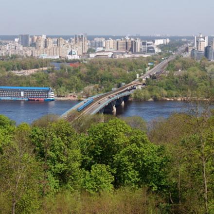 Kiev. Metro Bridge