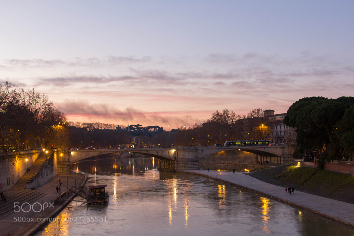 Photograph Tramonto in Roma by Lorenzo Camisassi on 500px