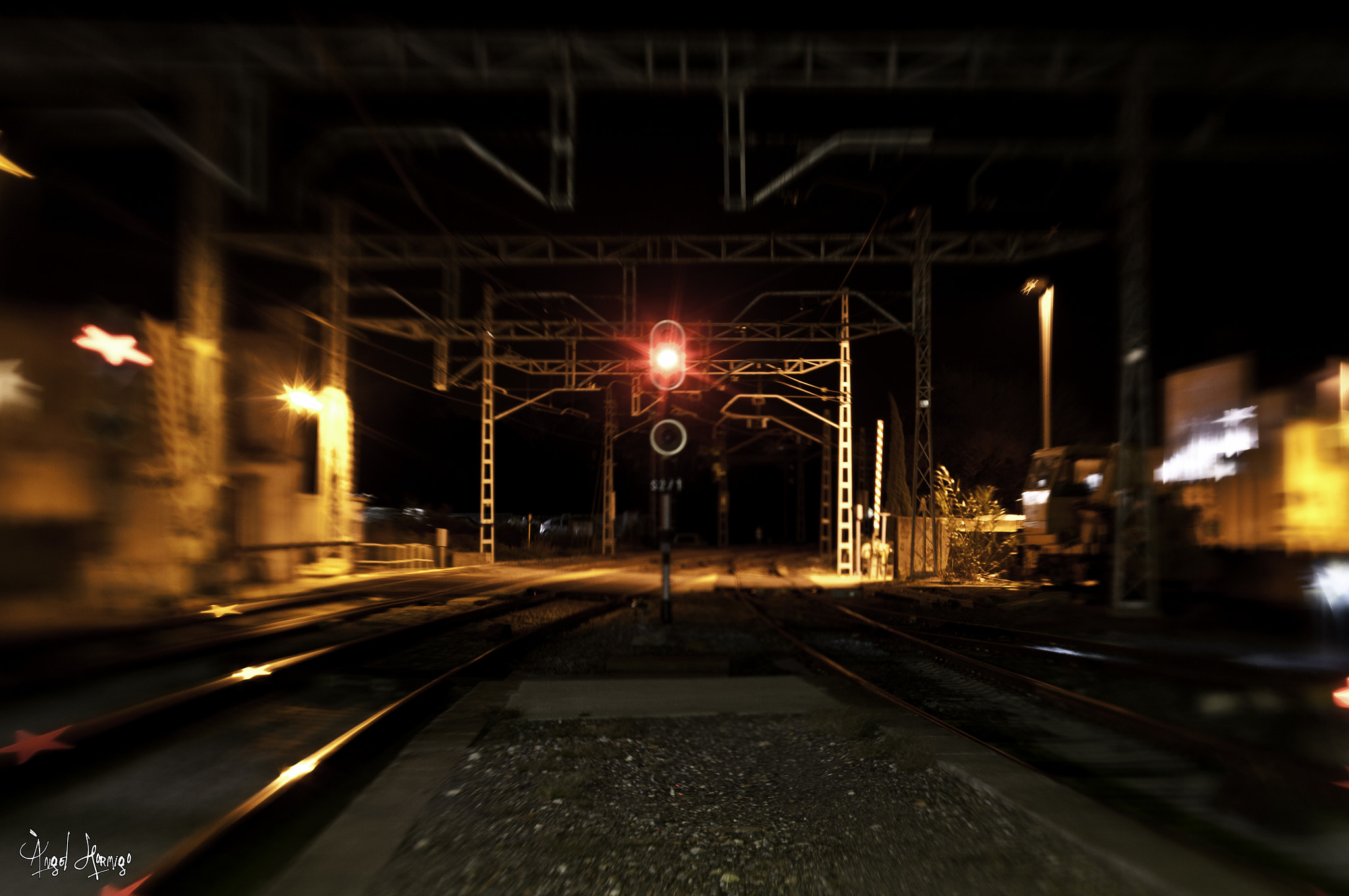 Photograph Train Light by Àngel  on 500px