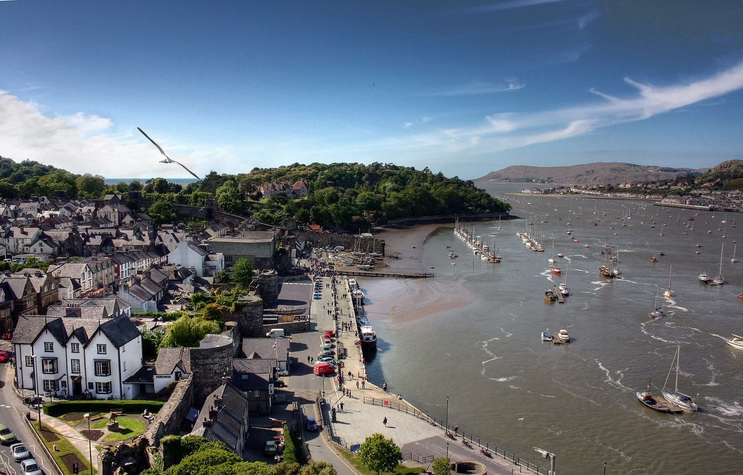 Photograph A View from the Conwy Castle by Dmitry Stepanenko on 500px
