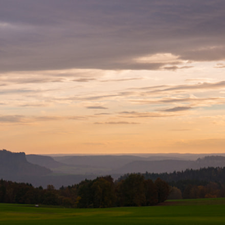 Sunset view from Rathewalde