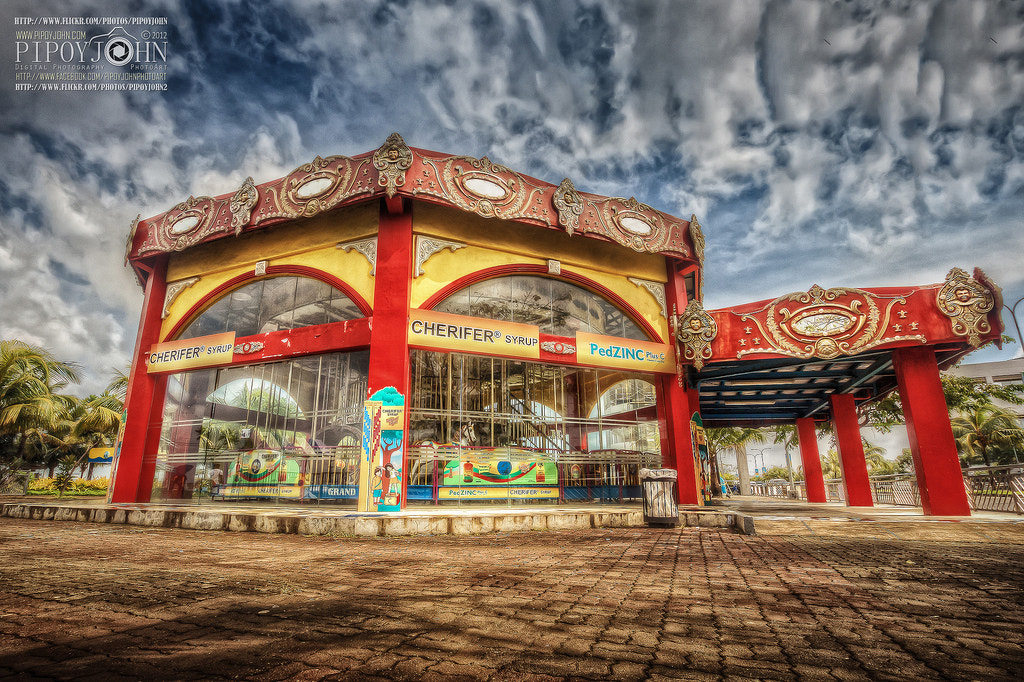 Photograph Indoor Carousel at SM Mall of Asia Manila Philippines HDR Photography By: Pipoyjohn by Pipoy John on 500px