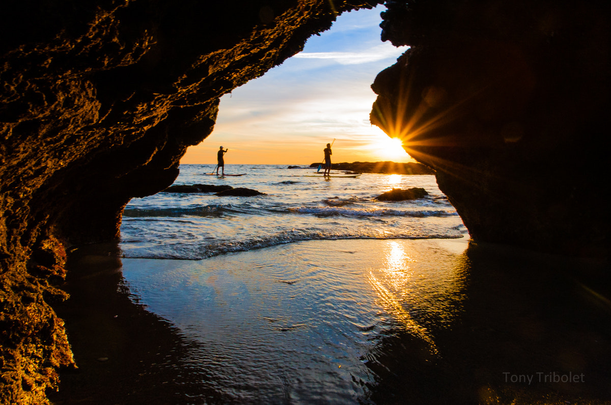 Photograph SUP Victoria Beach Cave by Tony Tribolet on 500px