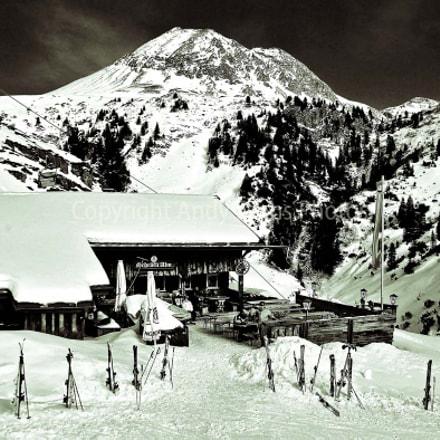 Schrofli Alm, Zurs am Arlberg, Austrian Alps, Austria