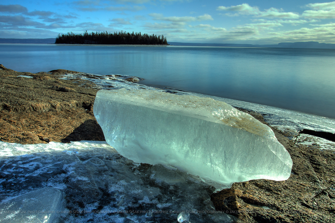 Photograph Spring in January Block of Ice by Jakub Sisak on 500px