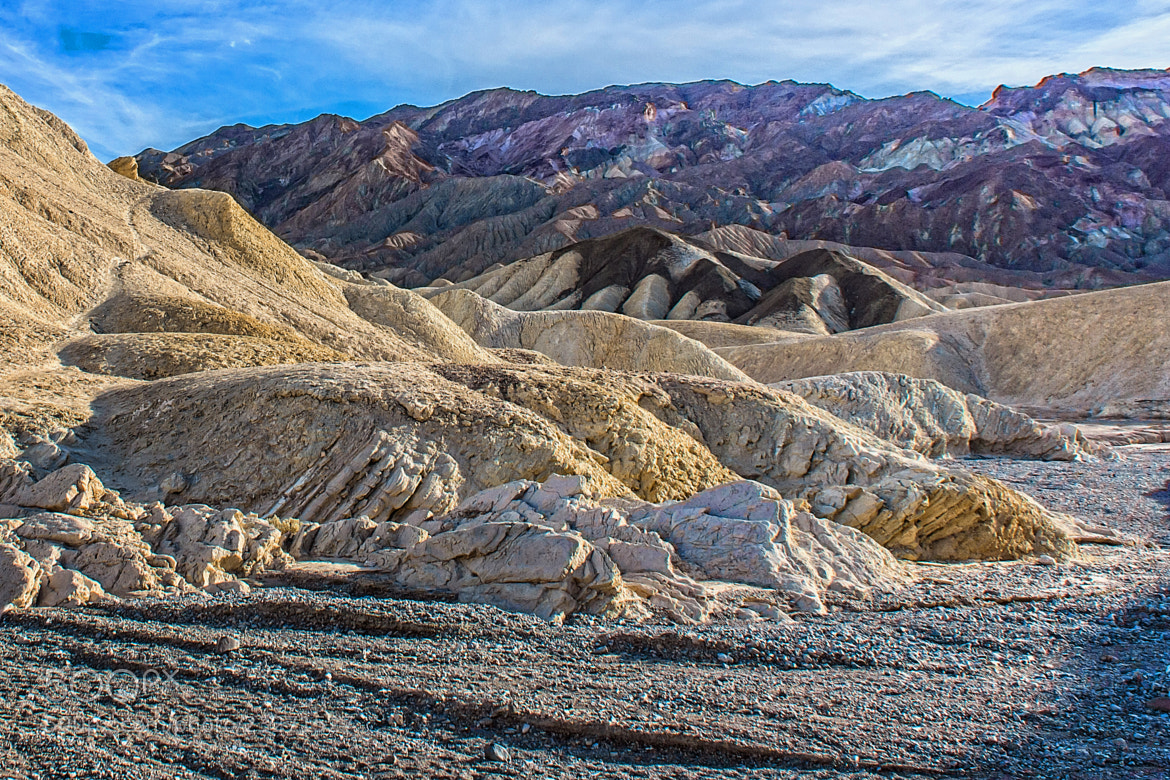 Photograph Badland Formations and Drywash by Bill Boehm on 500px
