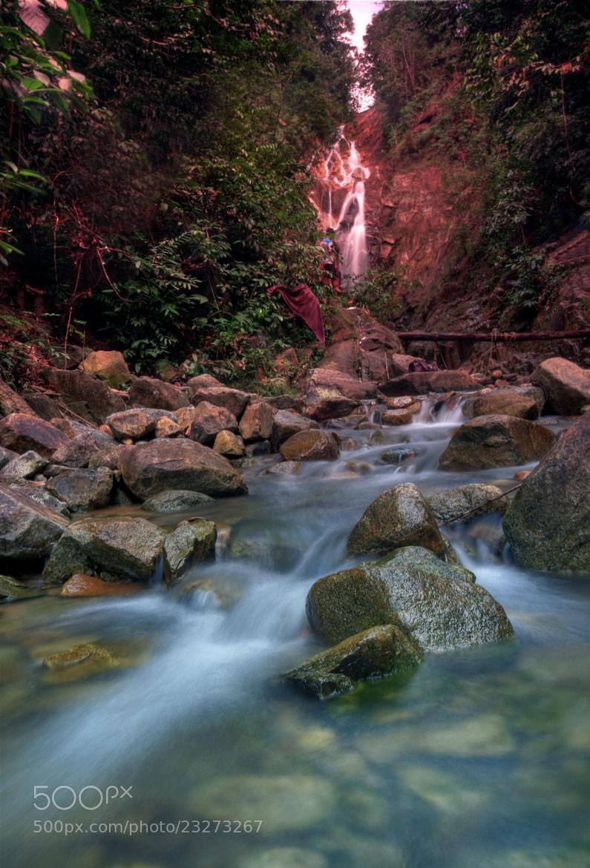 Photograph Gunung Pulai Waterfall by Qallam Ahmad on 500px
