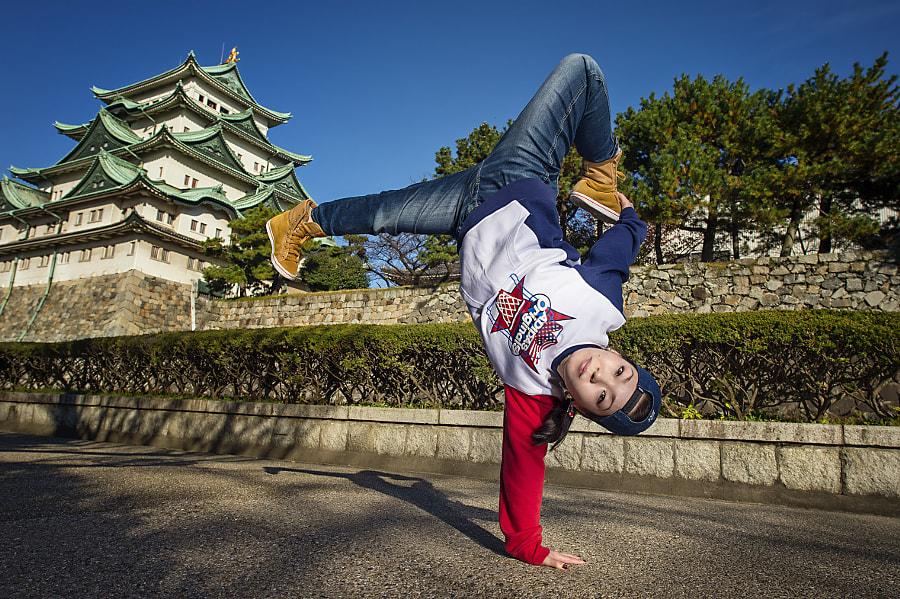 B-Girl Shie-Chan in Nagoya by Nika Kramer on 500px.com