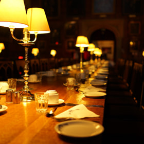 Christ Church's dining hall