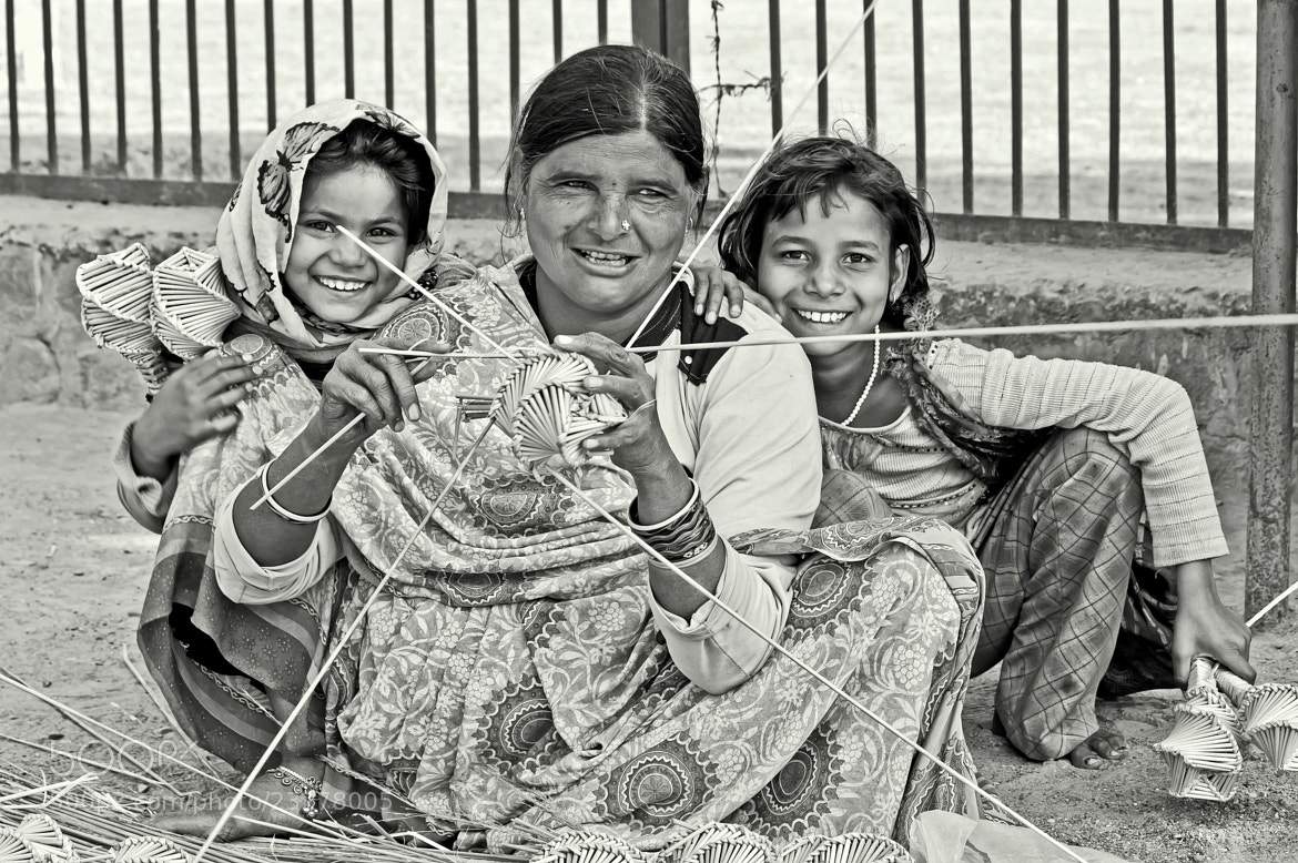 Photograph Smiles of hope by Samrat  Mukhopadhyay on 500px