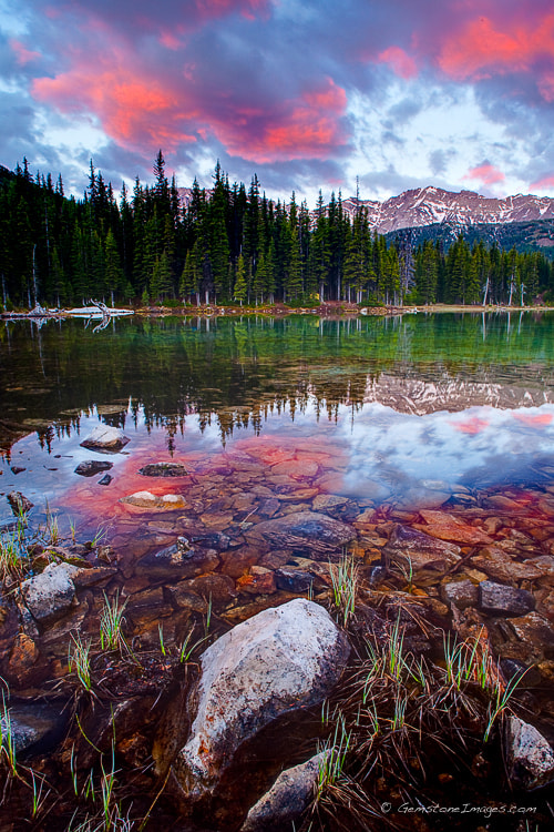 Photograph Elbow Lake Sunrise by Scott Dimond on 500px