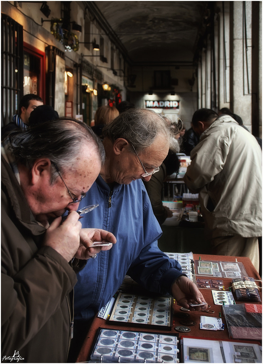 Photograph Numismatists by Manuel Lancha on 500px