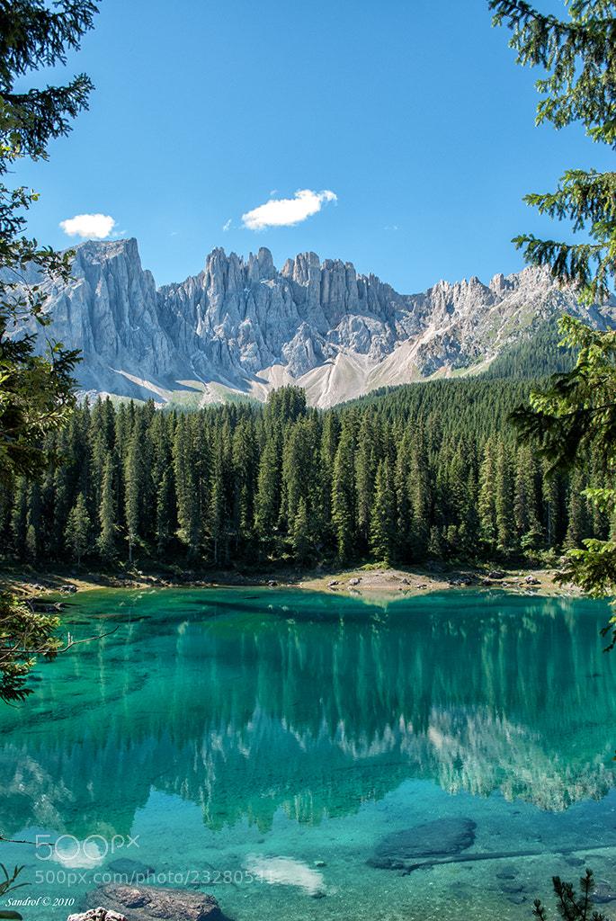 Photograph Carezza Lake by Sandro L. on 500px