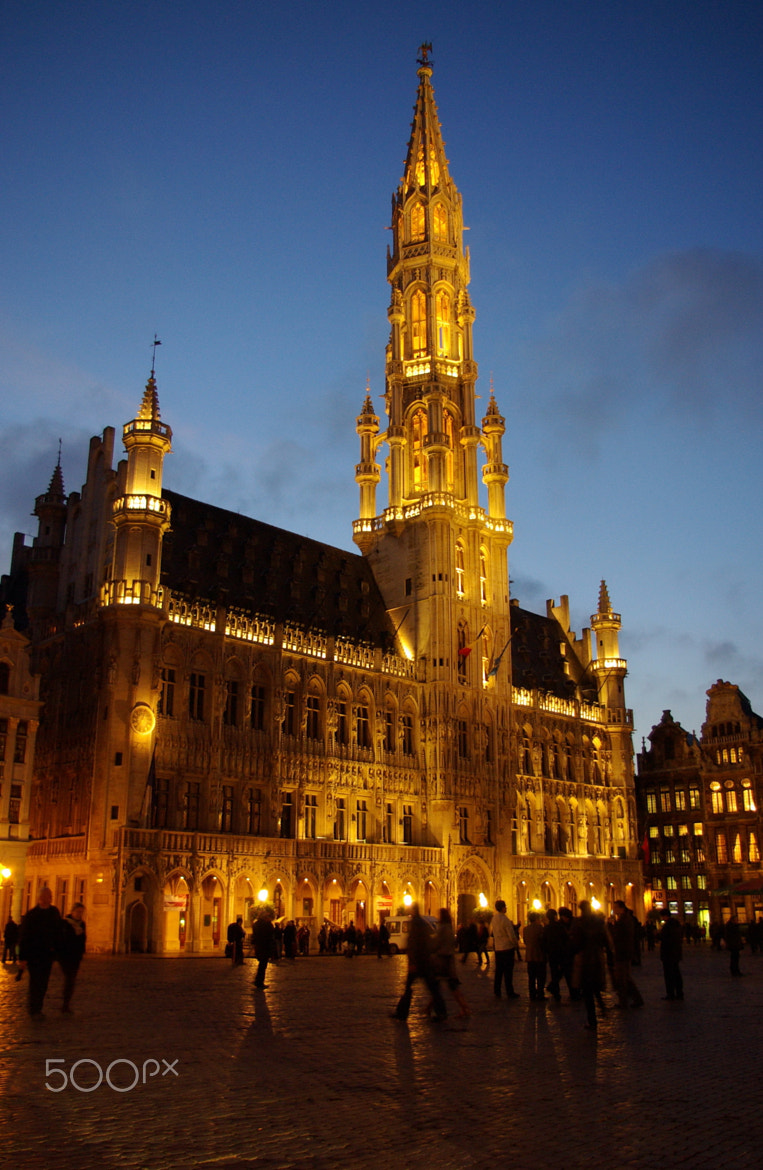 Photograph Brussels Town Hall by Béla Török on 500px