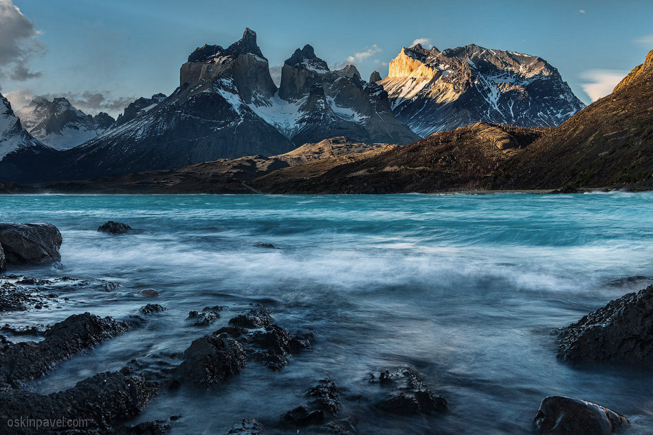 Photograph Los Cuernos sunset by Pavel Oskin on 500px