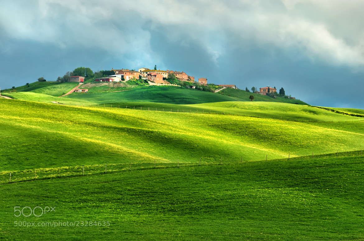 Photograph Small Toscan Village by Csilla Zelko on 500px