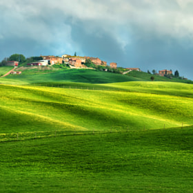 Small Toscan Village by Csilla Zelko (csillogo11)) on 500px.com