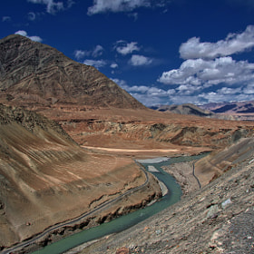 the mythic Indus river   by anna carter (annab)) on 500px.com