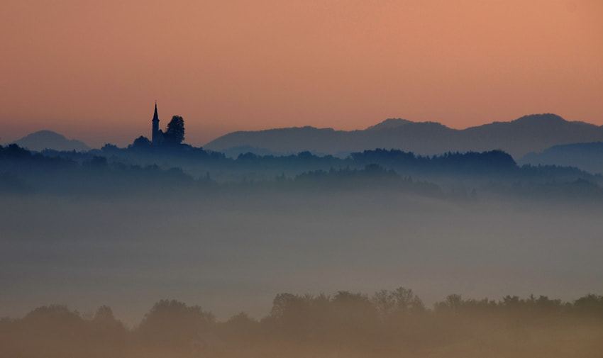 Photograph Church of the mists by Brane Kosak on 500px