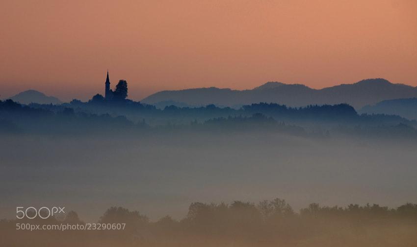 Photograph Church of the mists by Brane Kosak on 500px
