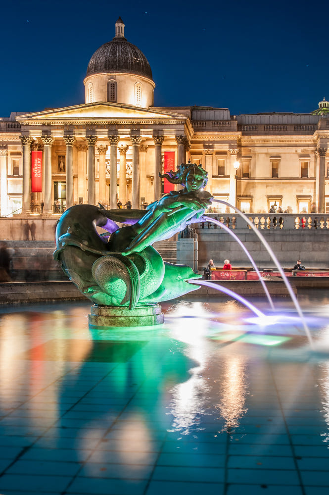 Trafalgar Square By Massimo Casiraghi / 500px