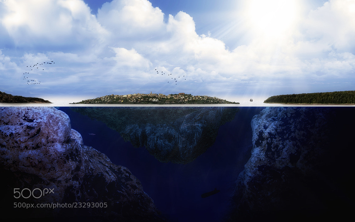 Photograph Nowhere Island (reworked) by Kayman Studio on 500px