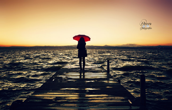 Photograph Red Umbrella, Red Future by Manuel Orero on 500px