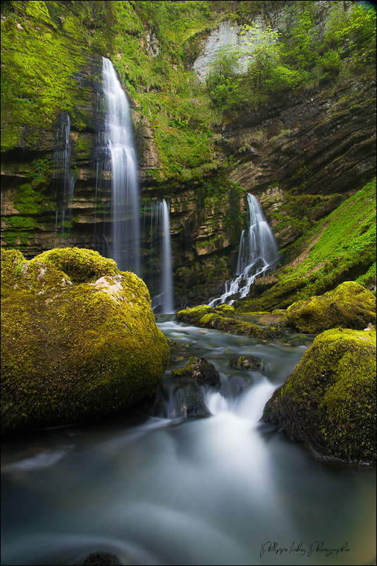 Photograph WATERFALL FLUMEN by philippe isabey on 500px