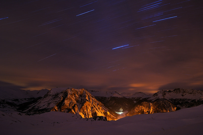 Photograph Startrails by Marco Barone on 500px