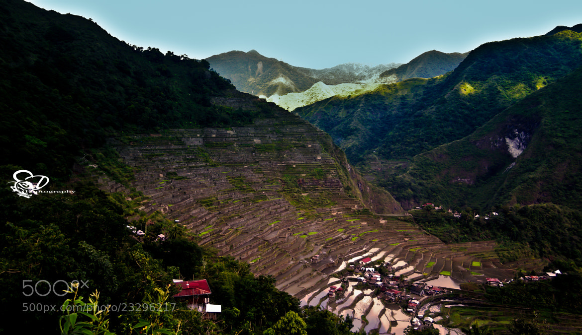 Photograph Rice Terraces of the Philippine Cordilleras by Danny schurgers on 500px