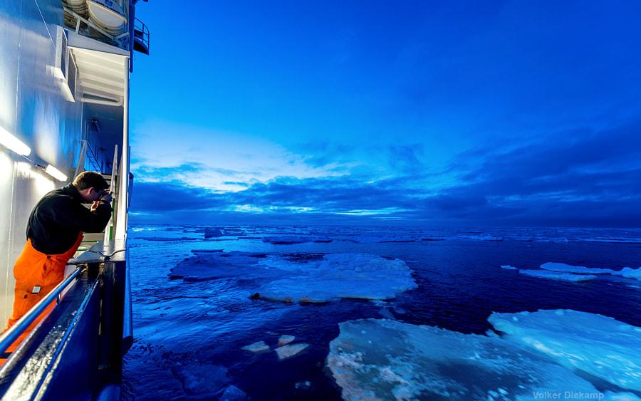 arctic blue by Volker Diekamp