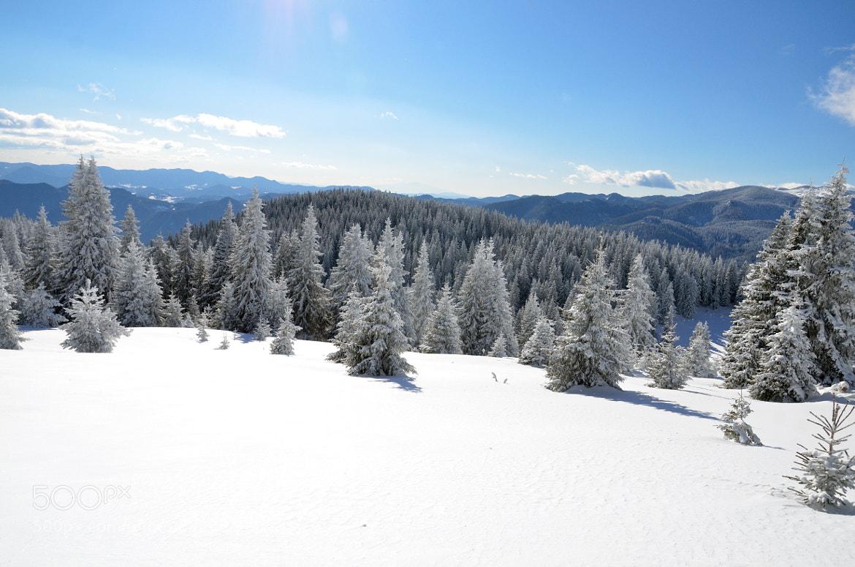 Photograph snow piste by derevnja on 500px