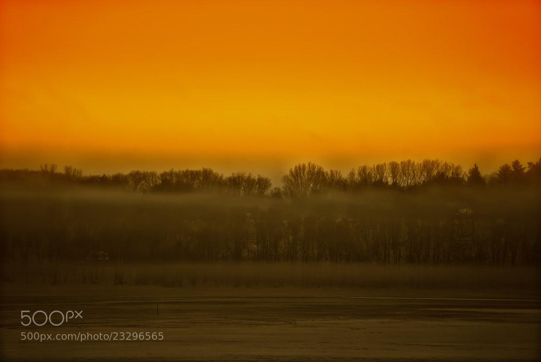 Photograph Foggy Sunrise by Chris Lockwood on 500px