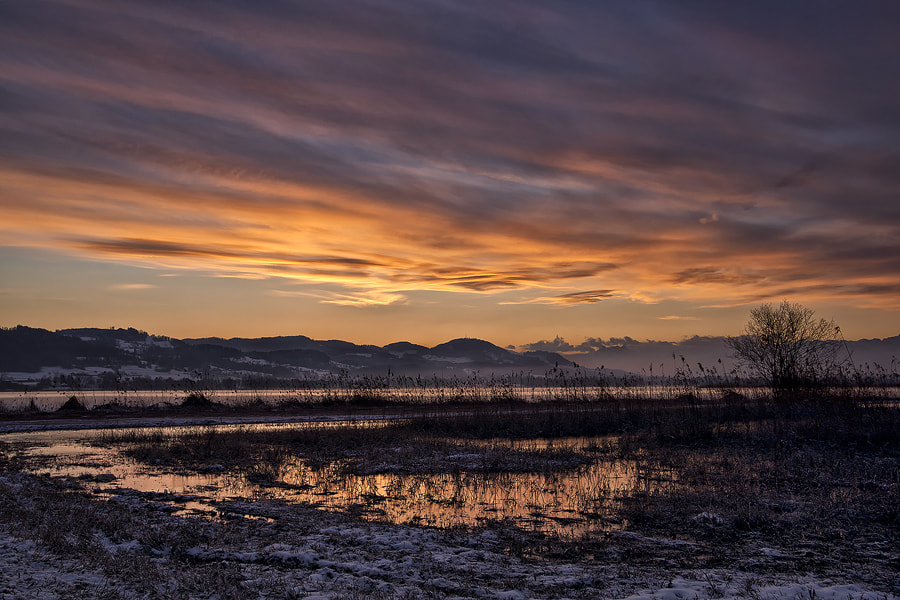Photograph blazing clouds by Sandra Löber on 500px