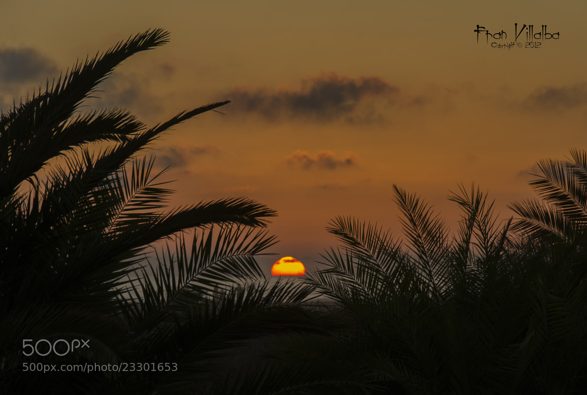Photograph Sunset by Fran Villalba on 500px