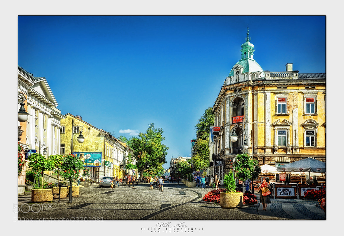 Photograph Streets of Radom.Poland by Viktor Korostynski on 500px