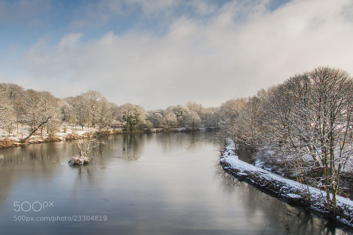 Photograph Icy Mill Pond by Mark Stokes on 500px