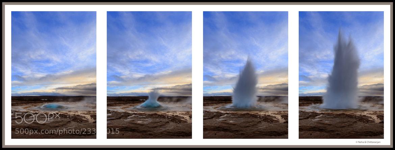 Photograph Geysir, Iceland  by Neha & Chittaranjan Desai on 500px