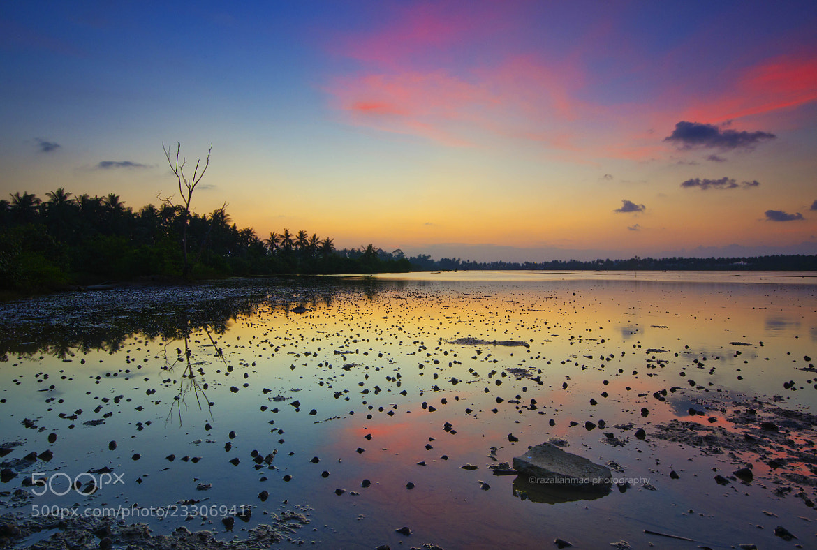 Photograph Tok Lukut Sunset by Razali Ahmad on 500px
