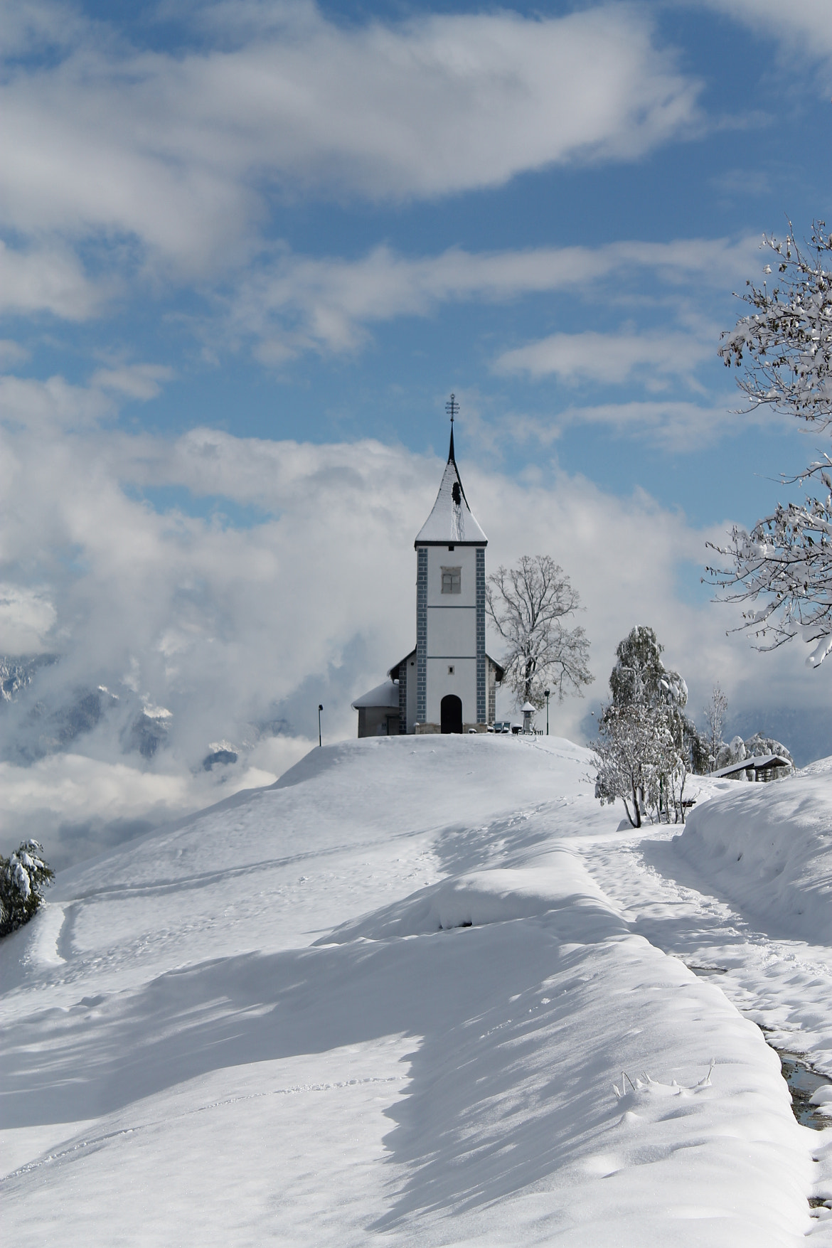 Photograph Church on Jamnik by Rok Frelih on 500px