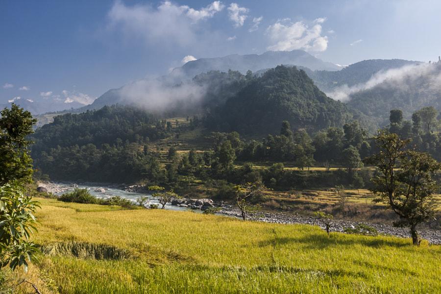 Gandaki river by Caroline Devulder on 500px.com