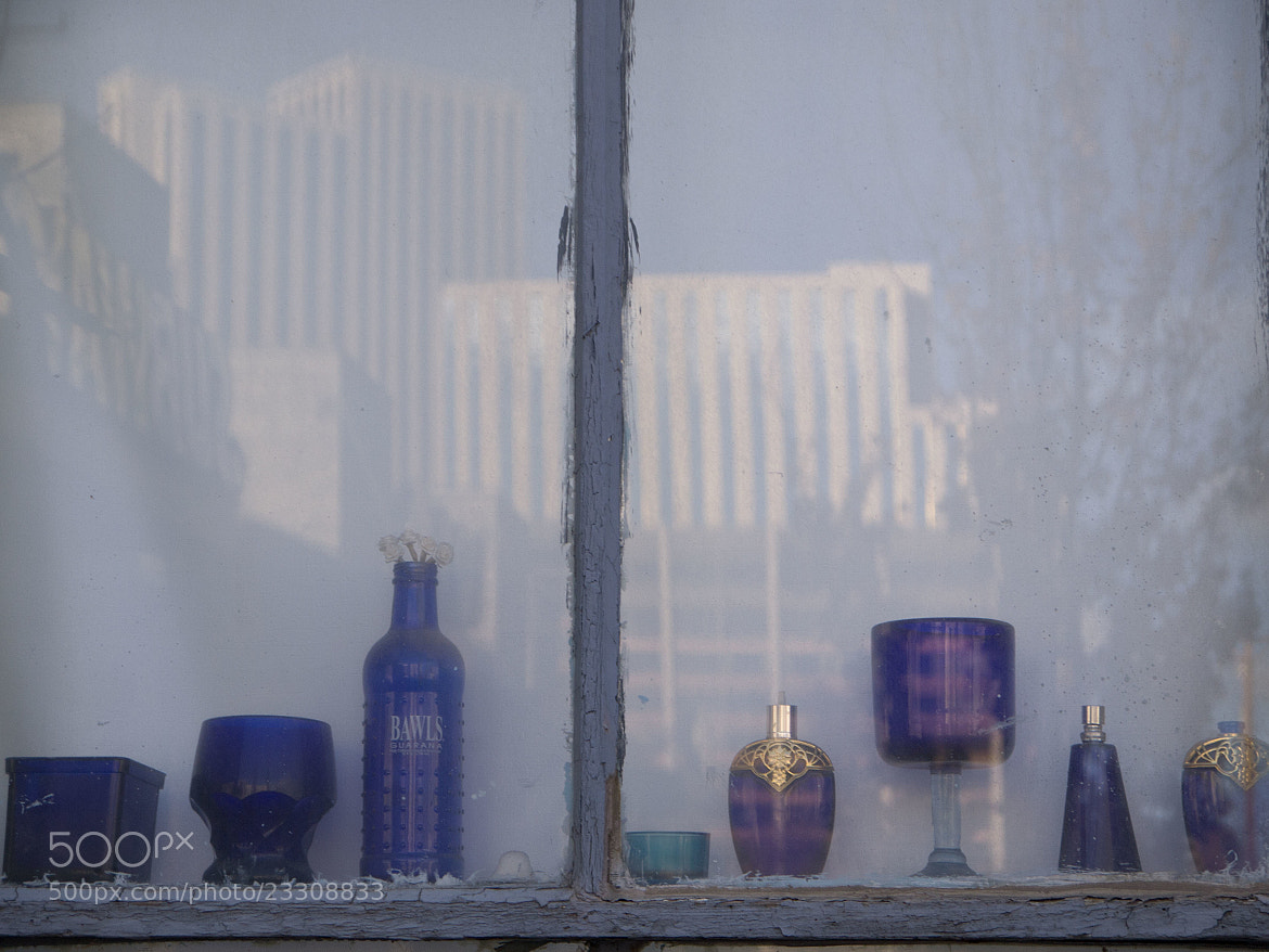 Photograph Reflection with blue by Milena Robinson on 500px