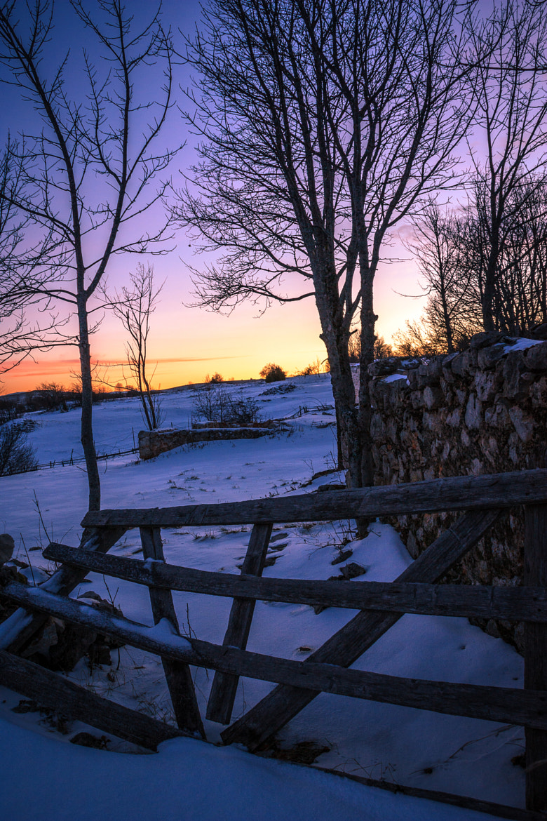 Photograph Old wooden and stone fences by Damir Misura on 500px