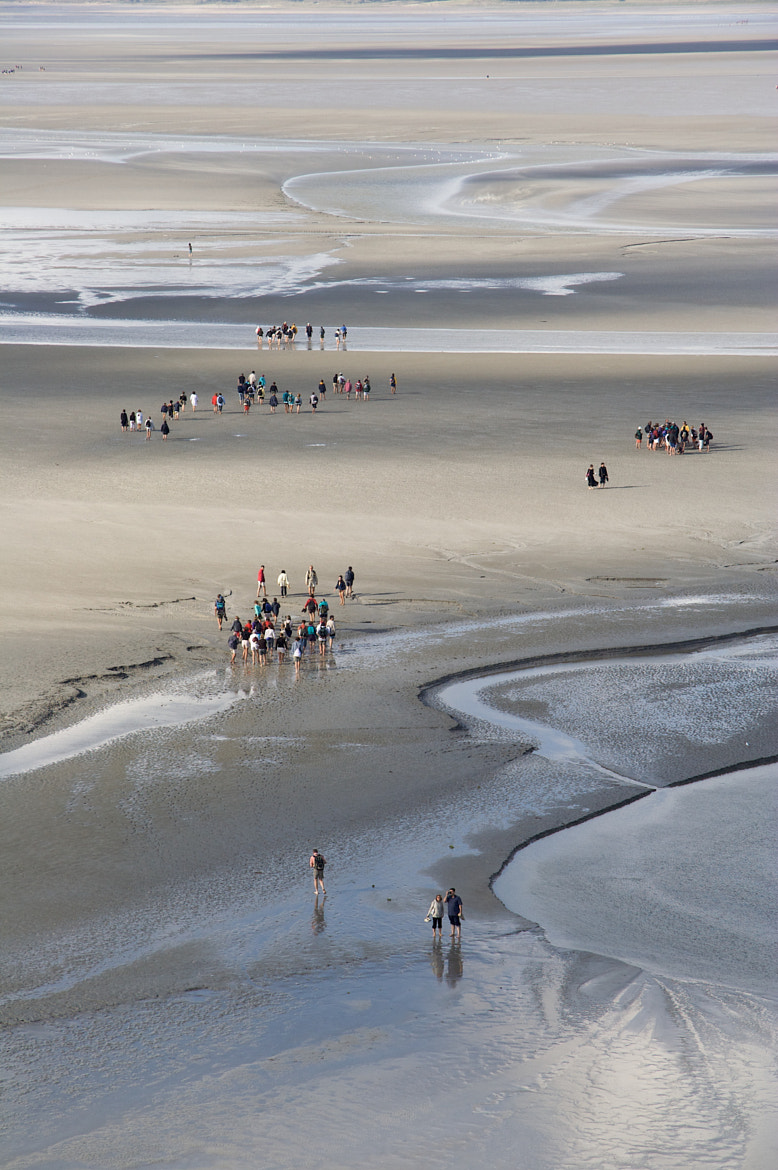 Photograph Normandia walking (Mont Saint-Michel) by giorgino on 500px