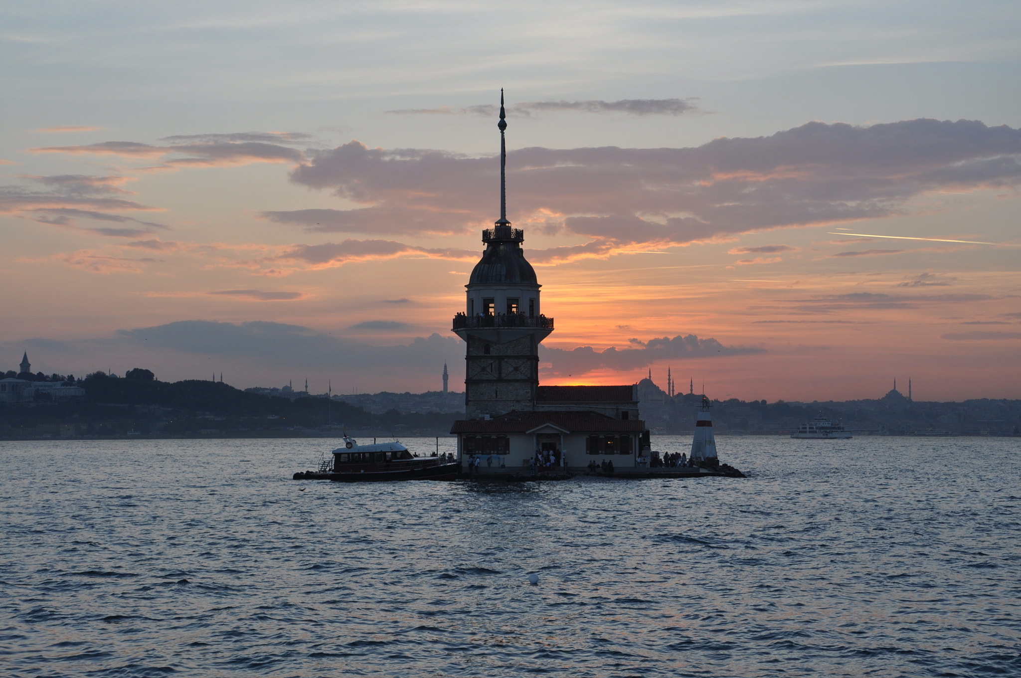 Photograph Maiden's Tower on day by Tayfun Karabay on 500px