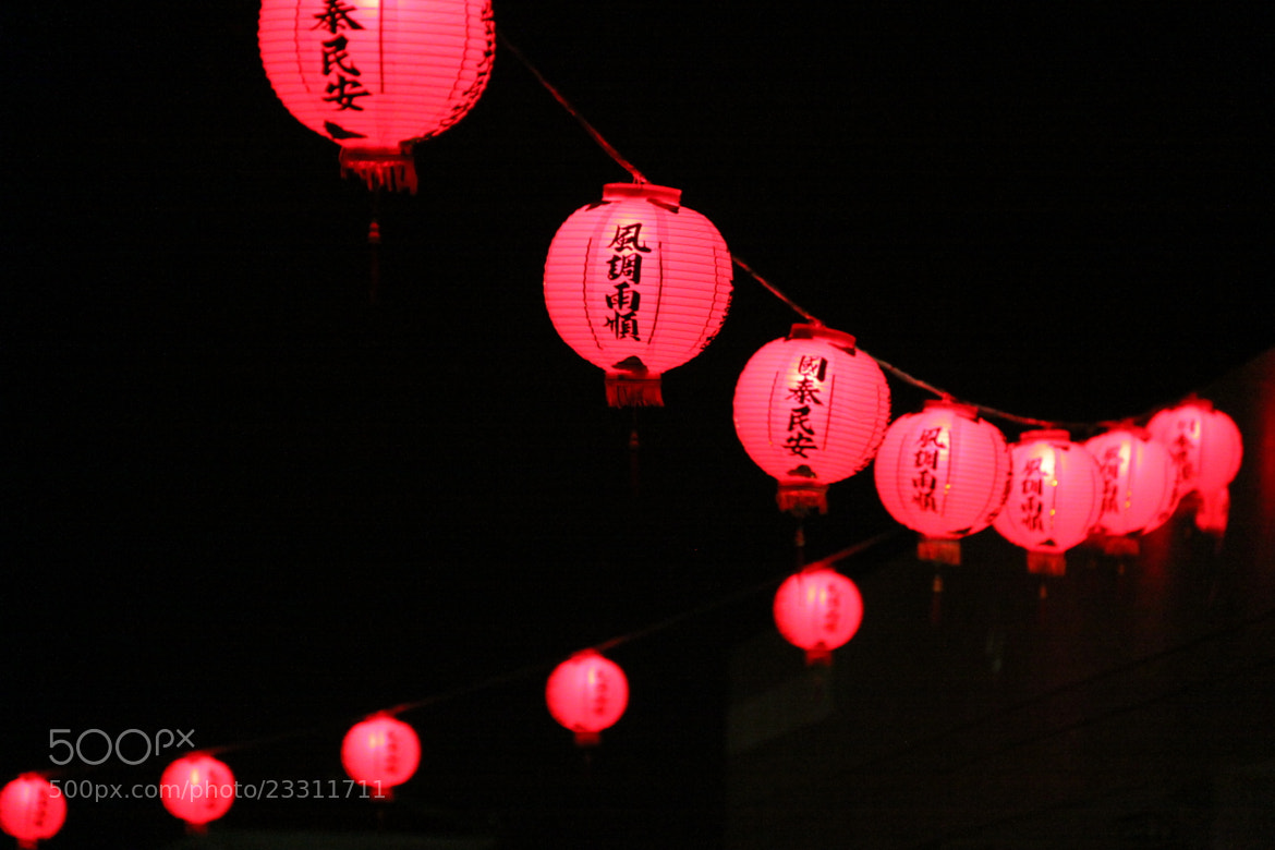 Photograph Lanterns by laudica on 500px