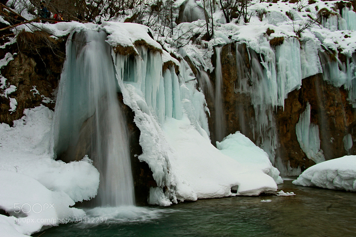 Photograph Plitvice in ice by Blaz Crepinsek on 500px