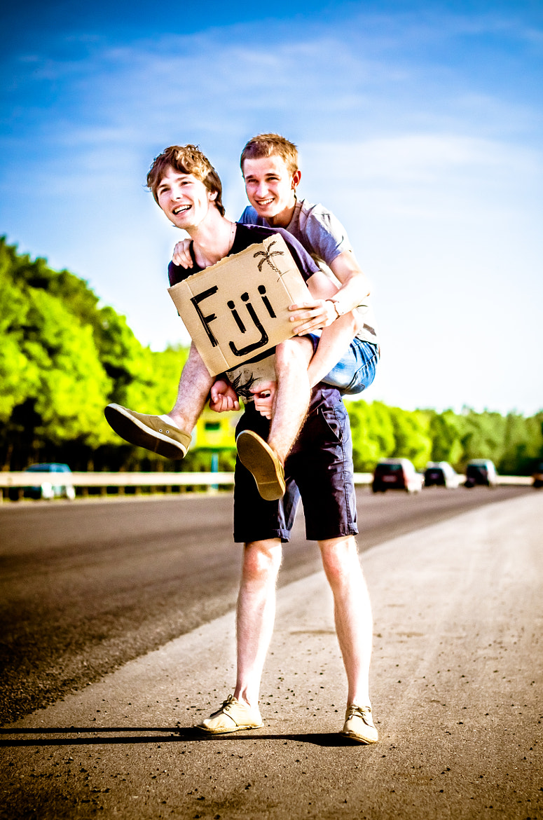 Photograph Hitchhikers by Anton Shunkov on 500px